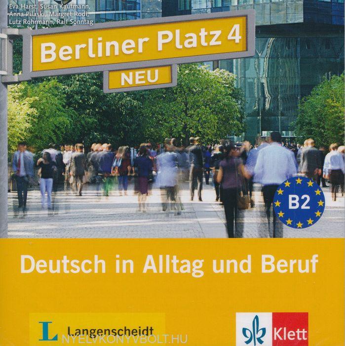 berliner platz 4 neu audio cd 2 deutsch in alltag und. Black Bedroom Furniture Sets. Home Design Ideas