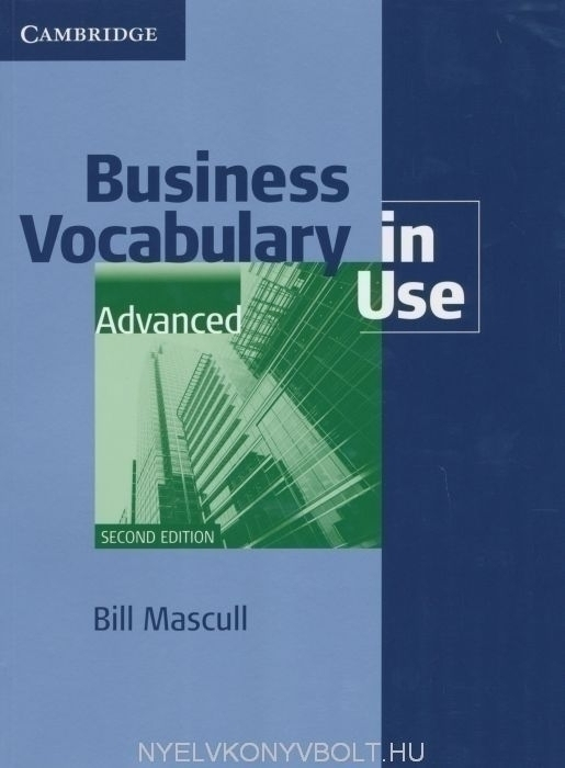 Business vocabulary in use intermediate | business vocabulary in.