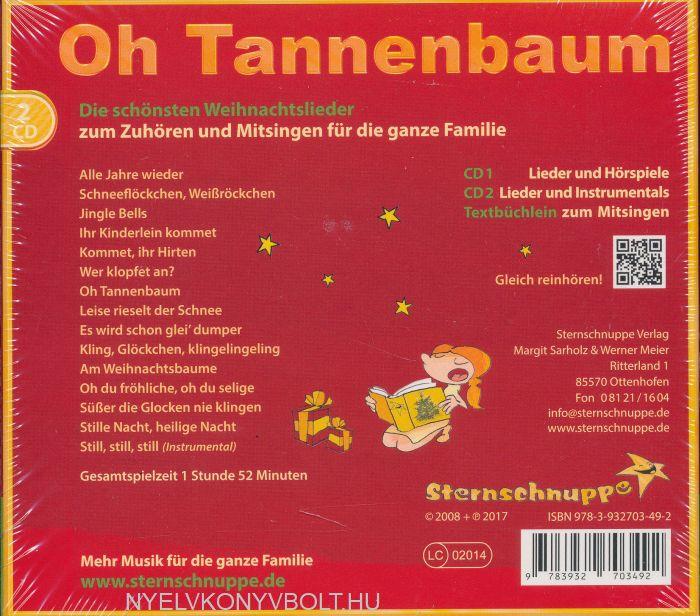 Oh Tannenbaum Auf Englisch.Oh Tannenbaum Die Schönsten Weihnachtslieder Gyerekkönyv