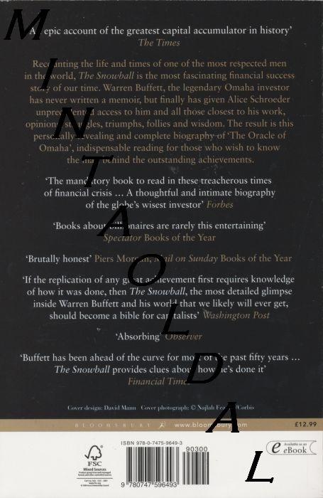 Snowball Warren Buffett Book