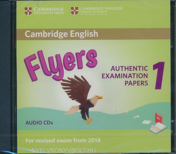 Cambridge English Flyers 1 Class Audio CDs for Revised Exam