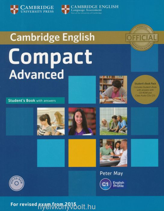 Cambridge english compact advanced students book with answers and cambridge english compact advanced students book with answers and class audio cds and cd rom fandeluxe Image collections