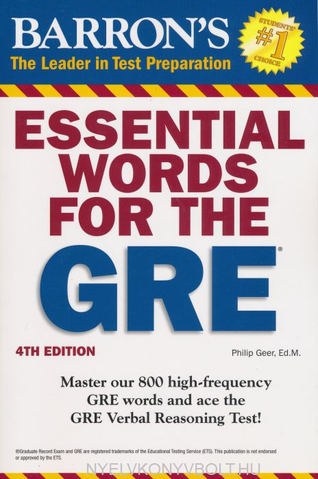 Barrons Gre Revised General Test Book