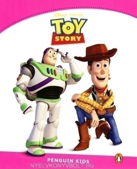 Toy Story Penguin Kids Disney Reader Level 2 Gyerekkonyv