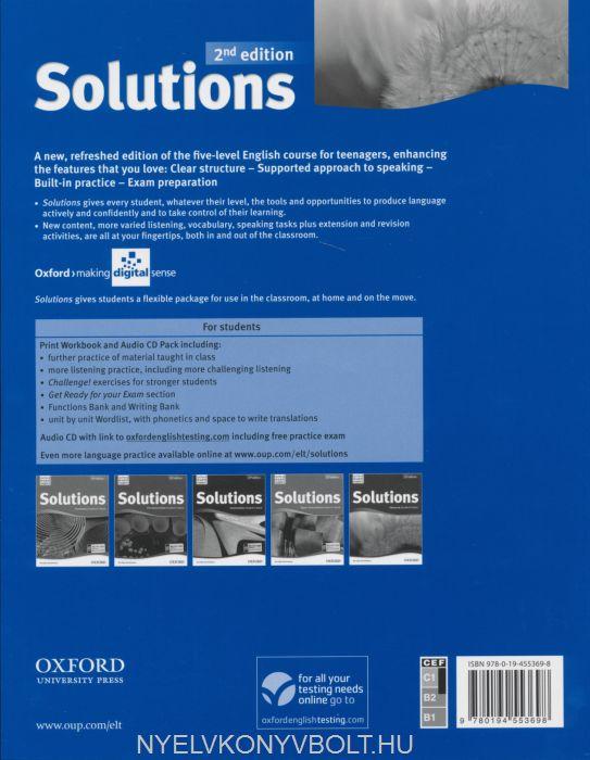 решебник к solutions workbook
