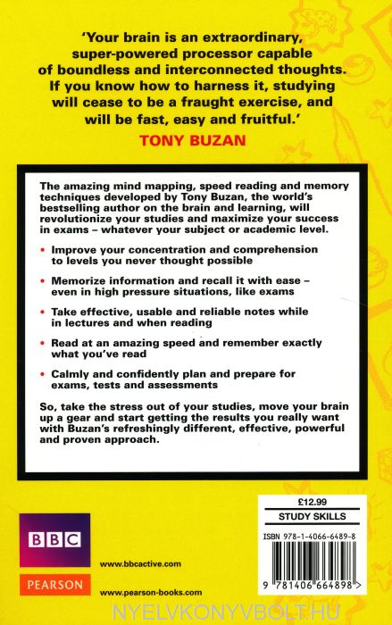 tony buzan speed reading pdf