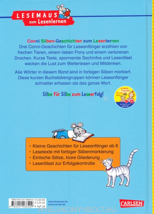 conni silbengeschichten zum lesenlernen  nyelvkönyv